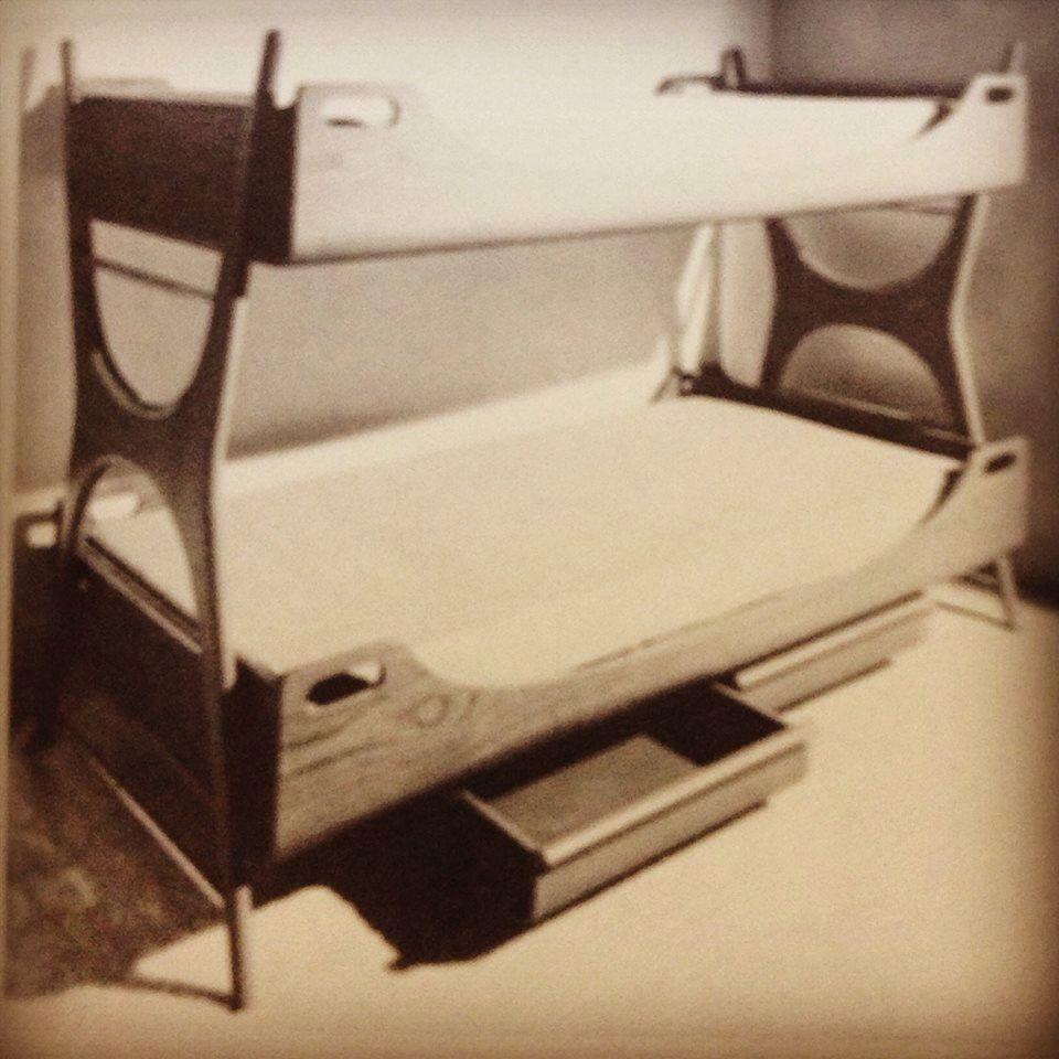 Midcentury Bunk Beds