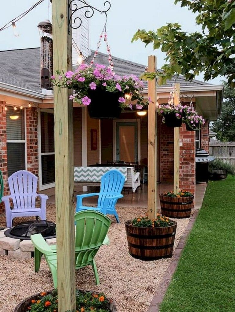 44 Amazing Small Patio Ideas On A Budget Inexpensive Backyard