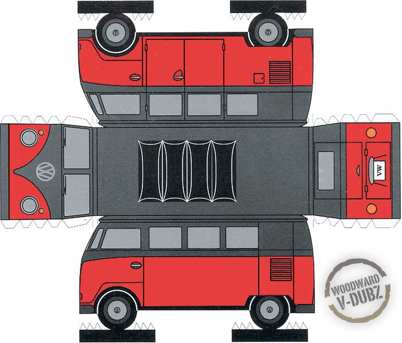 Vw Bus Paper Cars And Other Things Pinterest Vw