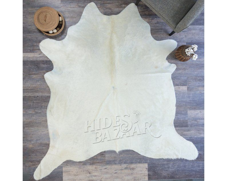 Pure Natural White Cowhide Rug Size 7 9 X7 7 Hb0340 Cow Hide Rug White Cowhide Rug Rug Size