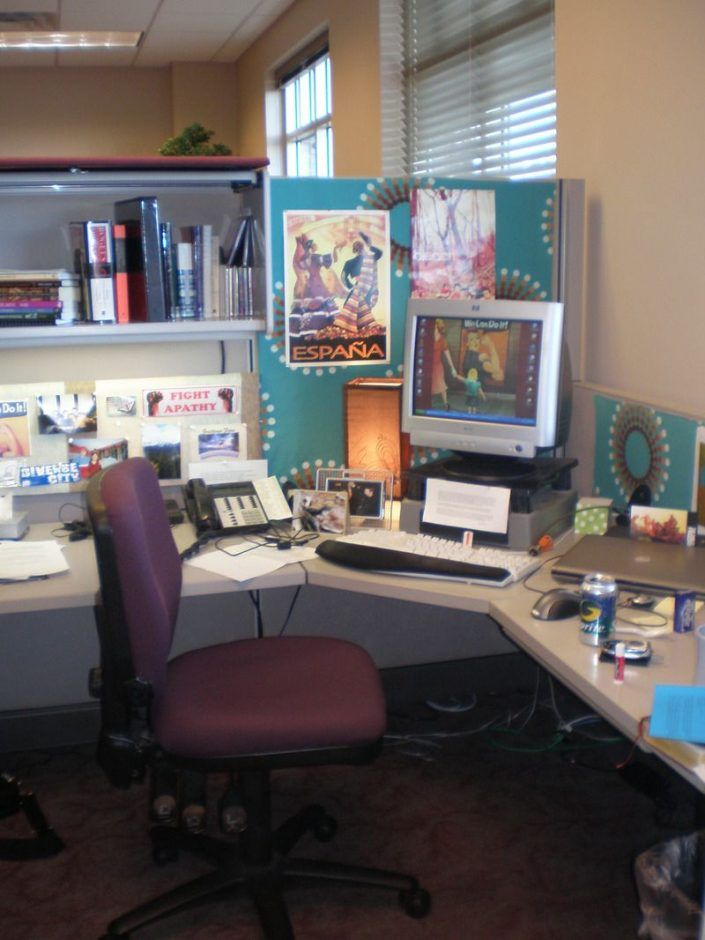 Office cubicle decoration New Year Design Ideas Favored Images On Your Desk Cubicle Decor Cubicle Decoration Purple Office Chair Open Shelving Pinterest Design Ideas Favored Images On Your Desk Cubicle Decor Cubicle