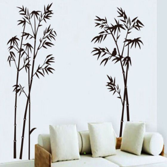 Bamboo Wall Decal Sticker Vinyl Decor Art Removable Home Mural Room Diy Stickers