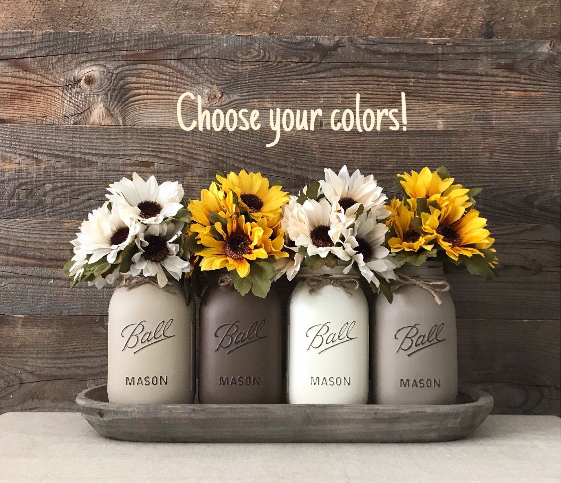 Excited To Share This Item From My Etsy Shop Sunflower Decor Sunflower Centerpieces Sunflowers Sunflower Centerpieces Sunflower Decor Sunflower Home Decor