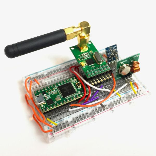 Rf Hacking How To Bypass Rolling Codes Keyless Entry Systems Electronic Lock Arduino Projects