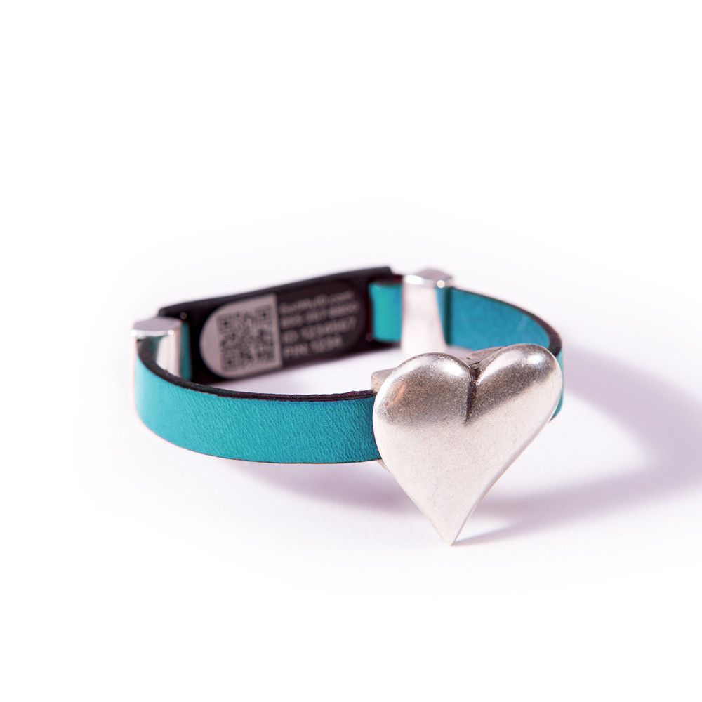 Magnetic Heart Clasp Myid Medical Id Bracelet Kidneybeanscount Code