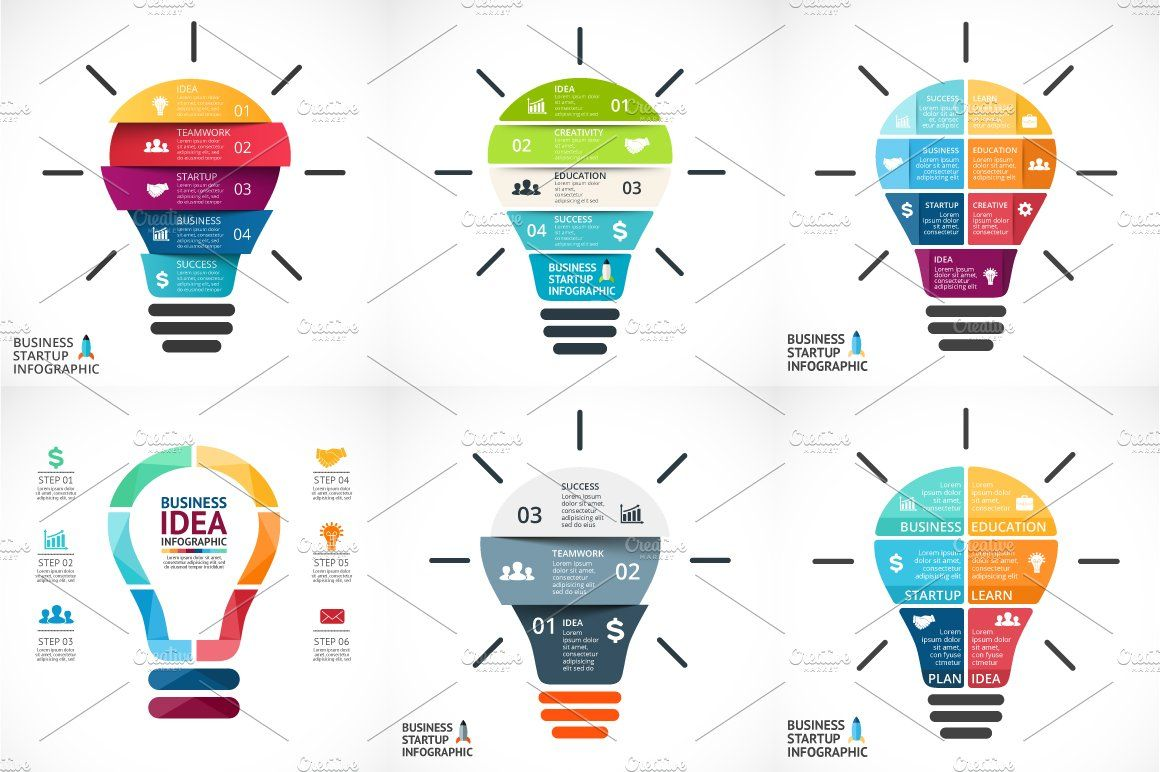 Creative Infographics. PSD Included! Infographic