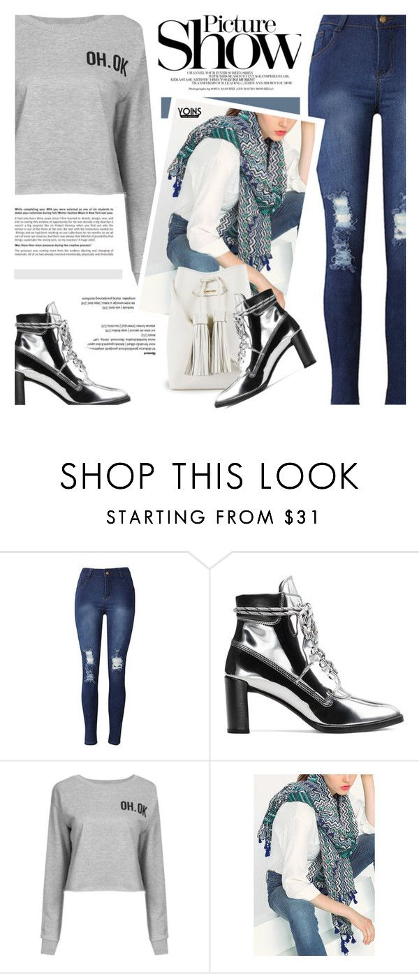 """""""Yoins"""" by defivirda ❤ liked on Polyvore featuring Stuart Weitzman, SANCHEZ, Tom Ford, yoins, yoinscollection and loveyoins"""