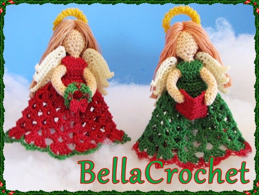 Are you ready for Christmas yet? I am working hard towards my goal of releasing a new free pattern every week during the month of December....