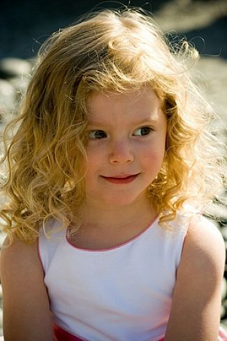 Be Creative With Your Little Girl Hairstyles Cute Wavy Hairstyles