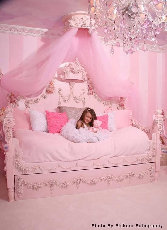 The Ultimate Princess Bed Princess Room Pink Room Little Girl Rooms