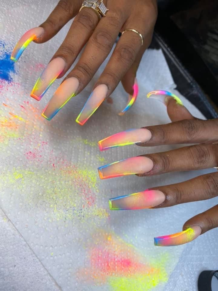 Pin By Dominique Boxley On Nails Drip Nails Coffin Nails Designs Rainbow Nails Dominique boxley is the wife of anthony fantano, one of the finest music reviewers of the time.new york times even named him probably the most popular music critic of the current era, in 2020. pinterest