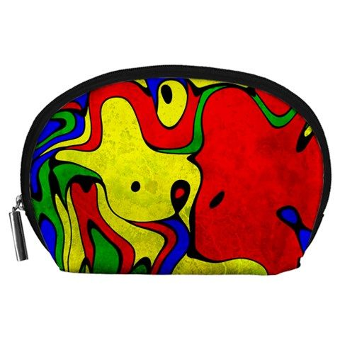 Abstract Accessory Pouch (Large)