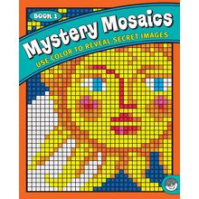 ONE FREE PRINTABLE Mystery Mosaics Coloring Books Are Filled With 18 Amazing Designs Disguised As