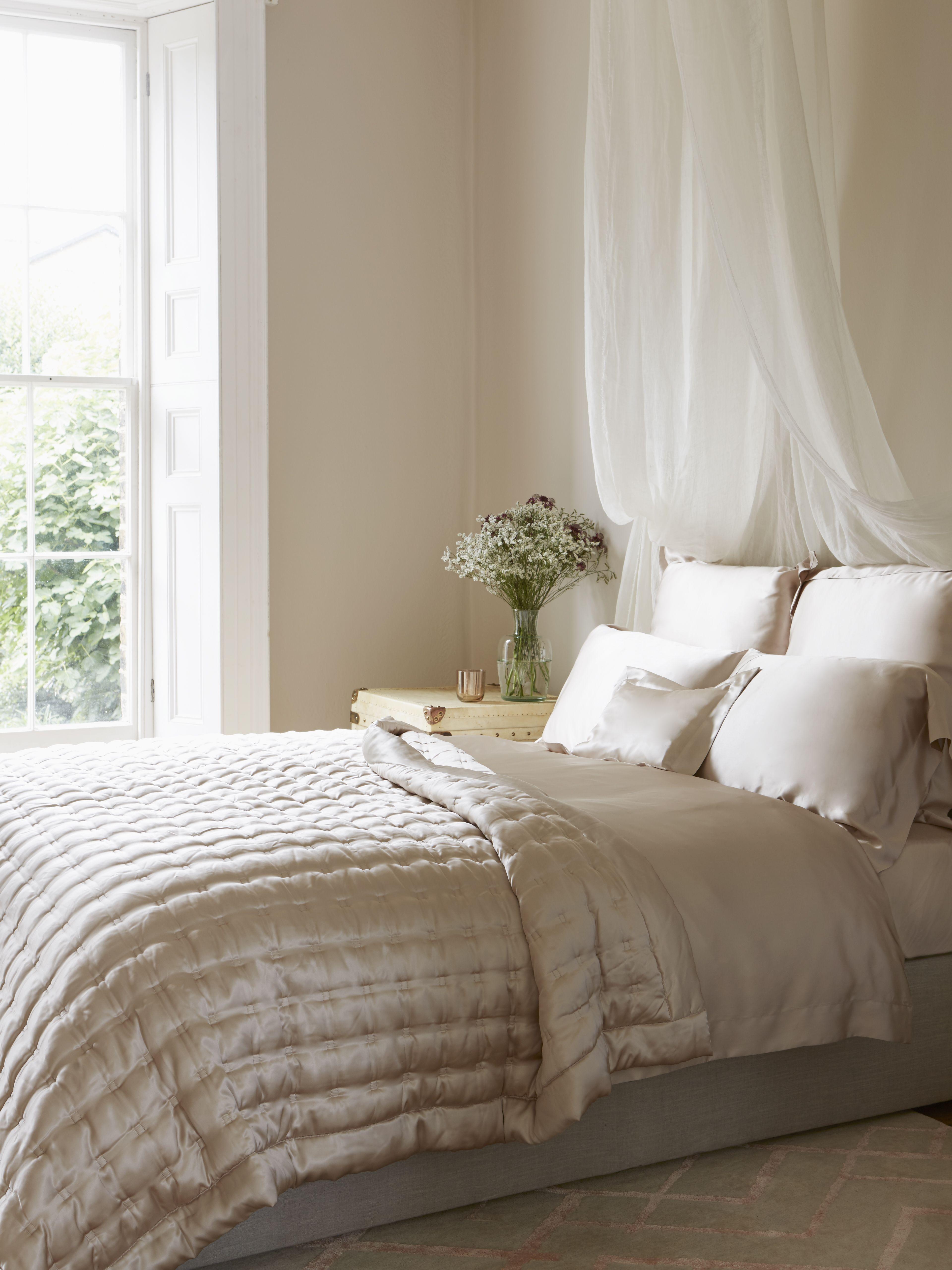 silk grey pinterest mulberry apartments pin bedroom bedspread comforter