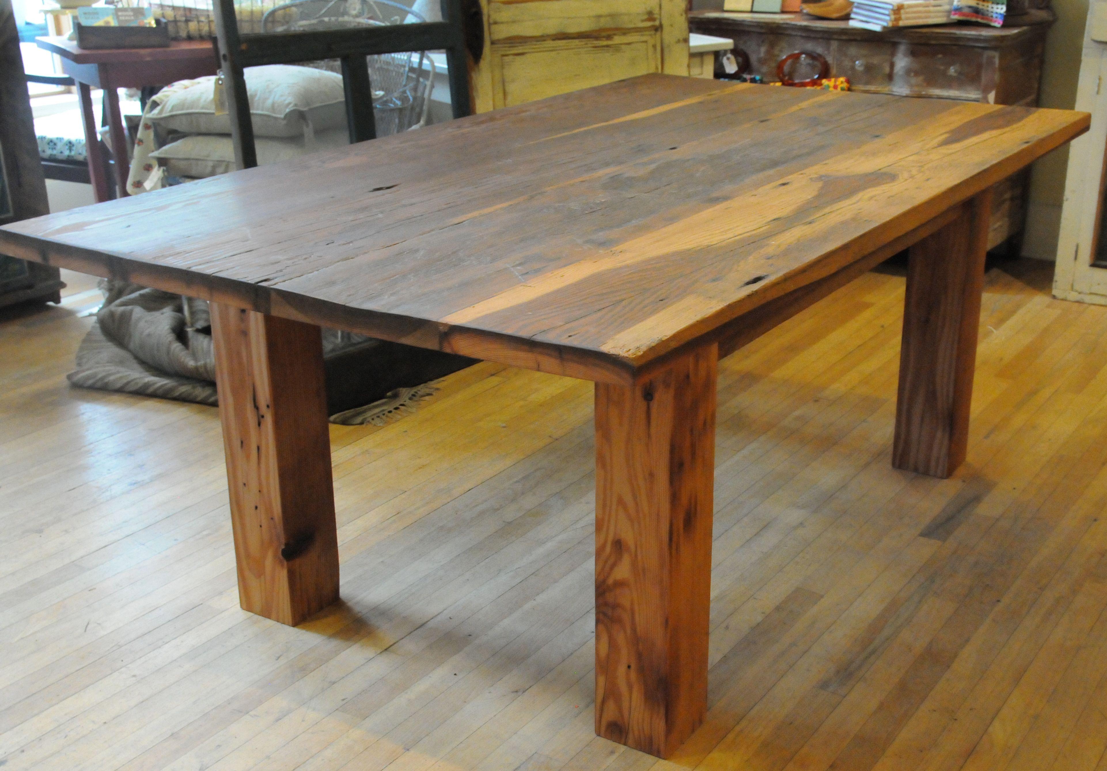 Handmade Wood Tables