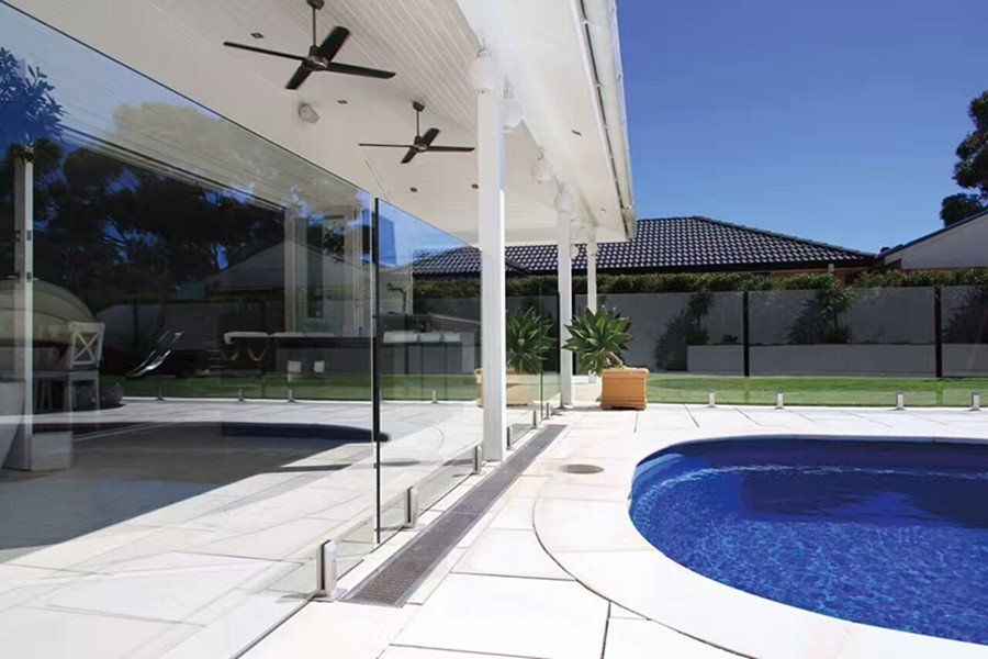 Frameless Glass Pool Fence Demax Arch Glass Pool Fencing Glass Pool Staircase
