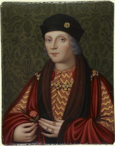 Henry VII (1457-1509)  Signed and dated 1818 by Henry Bone (1755-1834). Royal Collection Trust/© Her Majesty Queen Elizabeth II 2017