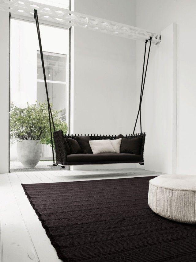 kreative Wohnungsideen für Möbel zum Spaß-Hängesessel fürs ...
