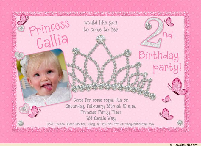 2nd Birthday Princess Party