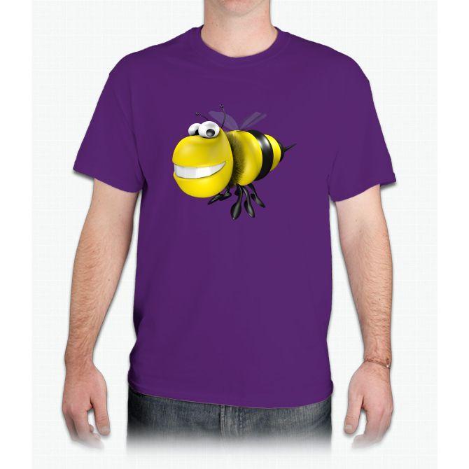 Funny Bee Bee Movie - Mens T-Shirt