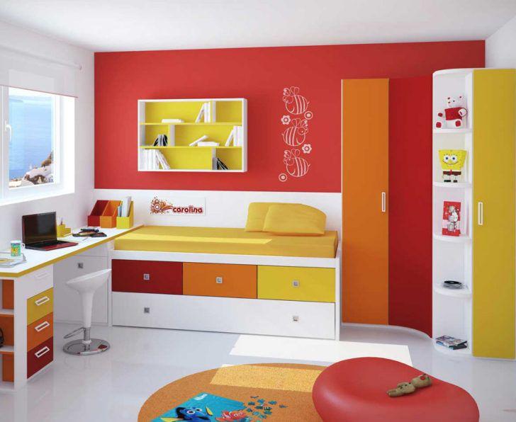 Colores calidos cuarto infantil interiores rojos for Dormitorios colores calidos