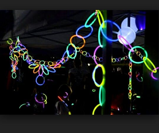 Neon/rave Bday Ideas