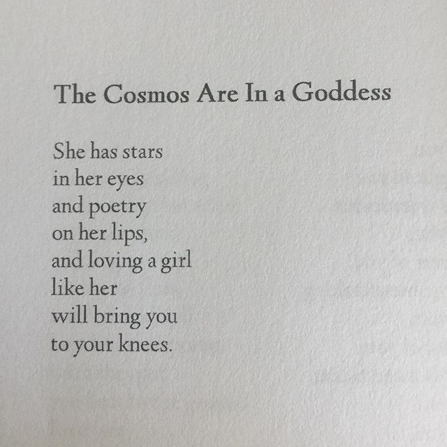 She Has Stars In Her Eyes And Poetry On Her Lips And Loving A Girl