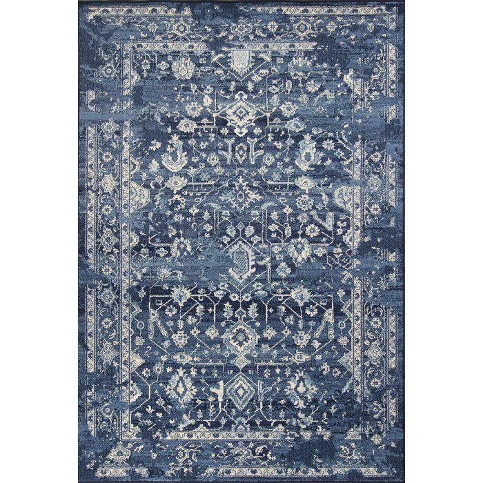 Bob Mackie Home By Kas Rugs Vintage Azure Area Rug Reviews