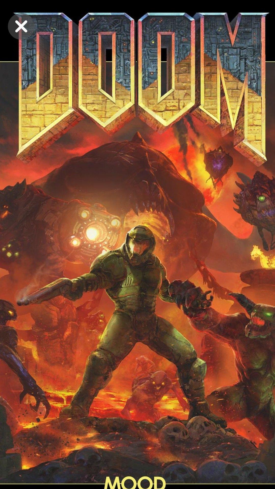 Mesigaqueeusigovoce Doom Demons Doom Videogame Doom Cover