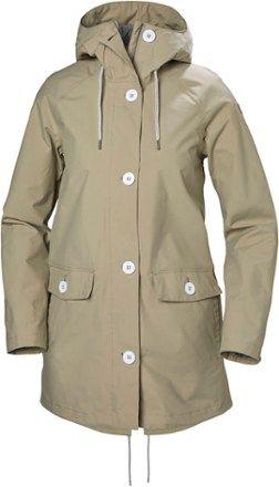 Photo of Helly Hansen Tsuyu Rain Coat – Girls's | REI Outlet