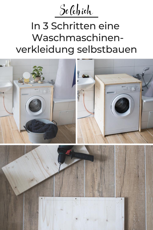 Photo of DIY: In 3 Schritten zur hübschen Waschmaschinenverkleidung