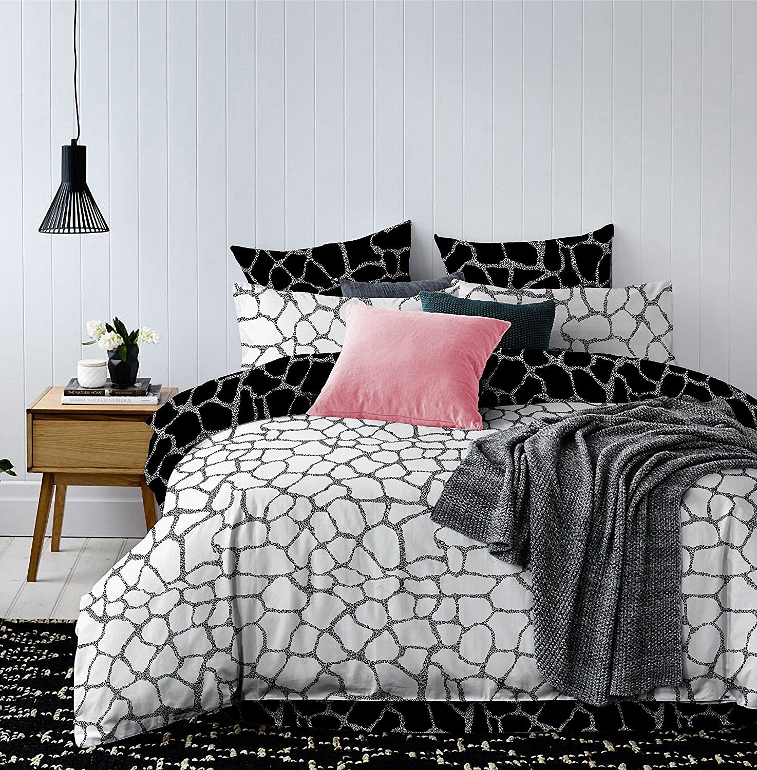 bettw sche mit 2 kopfkissenbez gen my blog. Black Bedroom Furniture Sets. Home Design Ideas