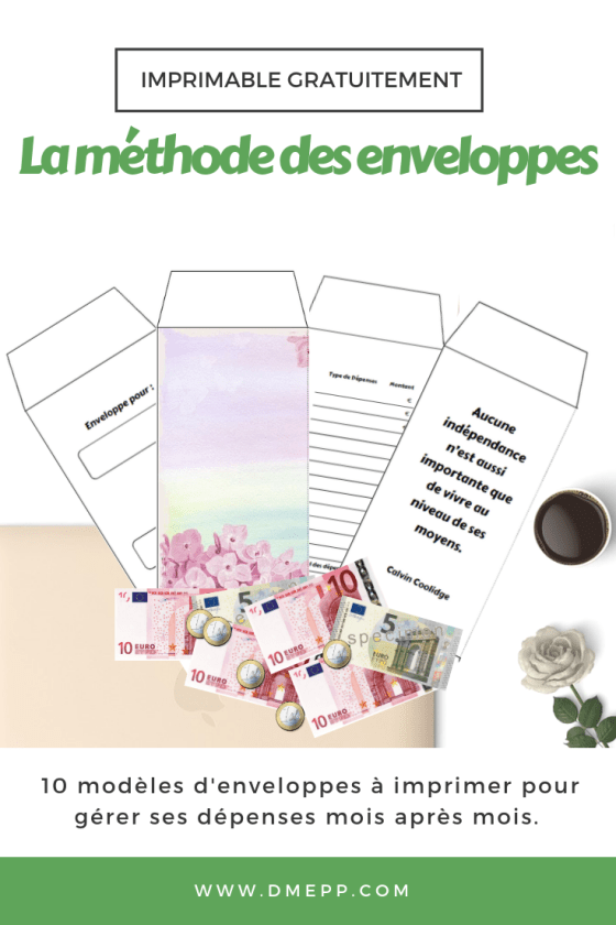 Le Systeme Des Enveloppes Pour Organiser Son Budget Comment Gerer Son Budget Modele Enveloppe Gestion Budget