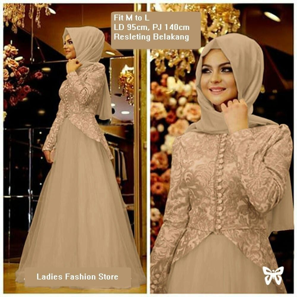 Model Baju Gaun Gamis Pesta Terbaru di 9  Gaun, Gaun perempuan