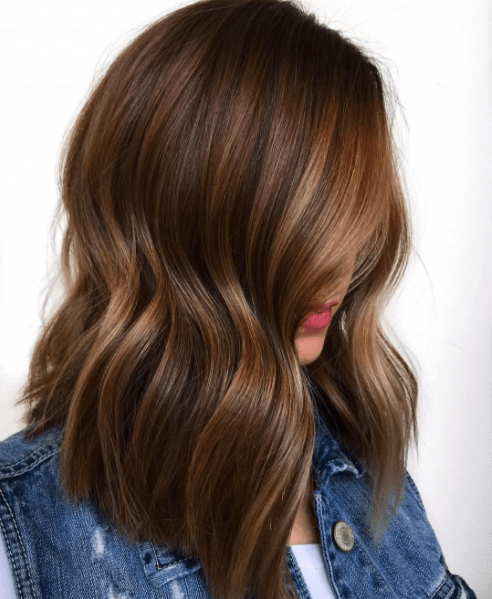 Beautiful Brunette Balayage – Behindthechair.com