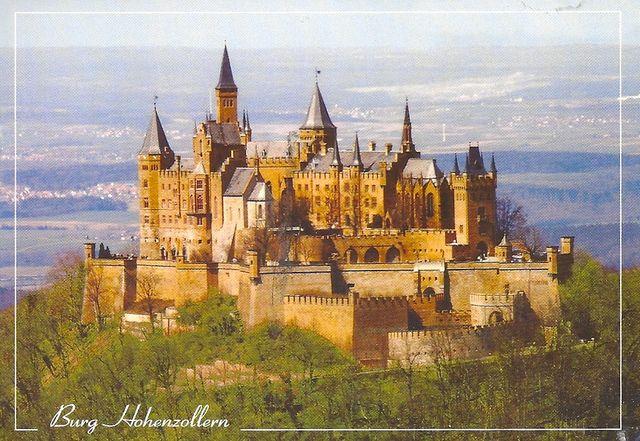 Germany Hohenzollern Castle Germany Castles Hohenzollern Castle Beautiful Castles