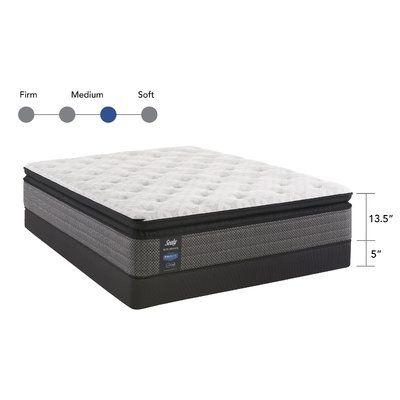 Sealy Response™ Performance 13.5 Medium Pillow Top Mattress and Box Spring Mattress Size: Twin XL, Box Spring Height: Low Profile #pillowtopmattress