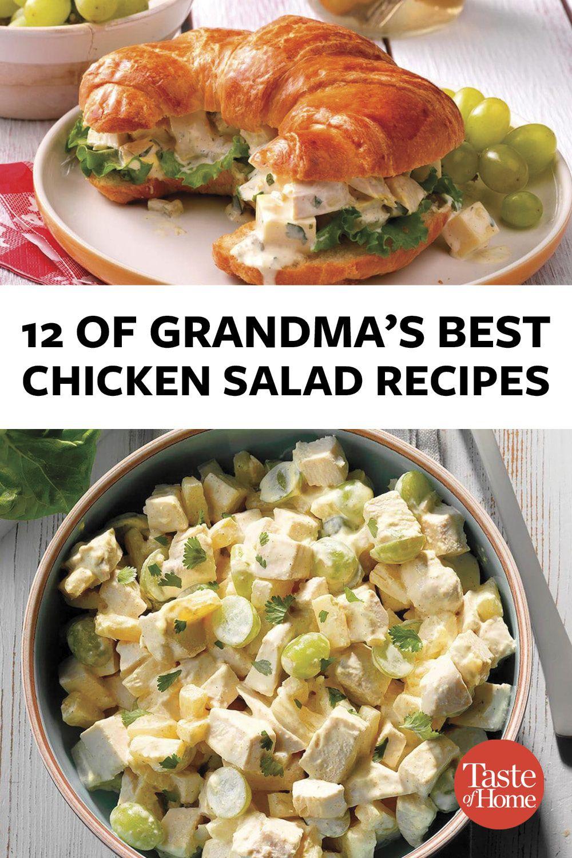 Chicken Salad Recipe Taste Of Home