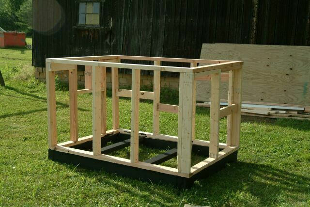 Simple Flat Roof Dog House Plans Building A Dog House