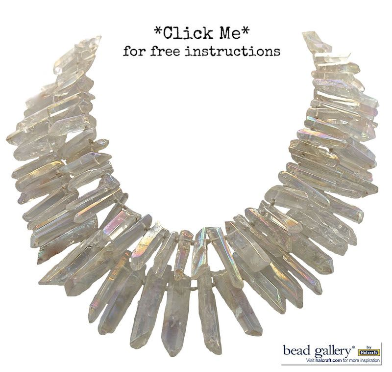 Make your own Icicle Necklace with these step by step instructions ...