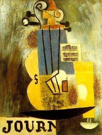 Pablo Picasso - Violin, 1912