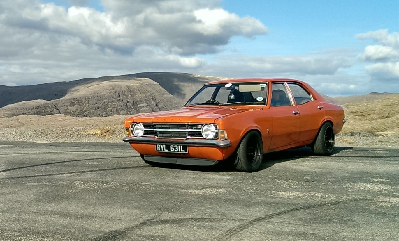 This Supercharged Ford Cortina Mk3 Modified Classic Hotrod Is For