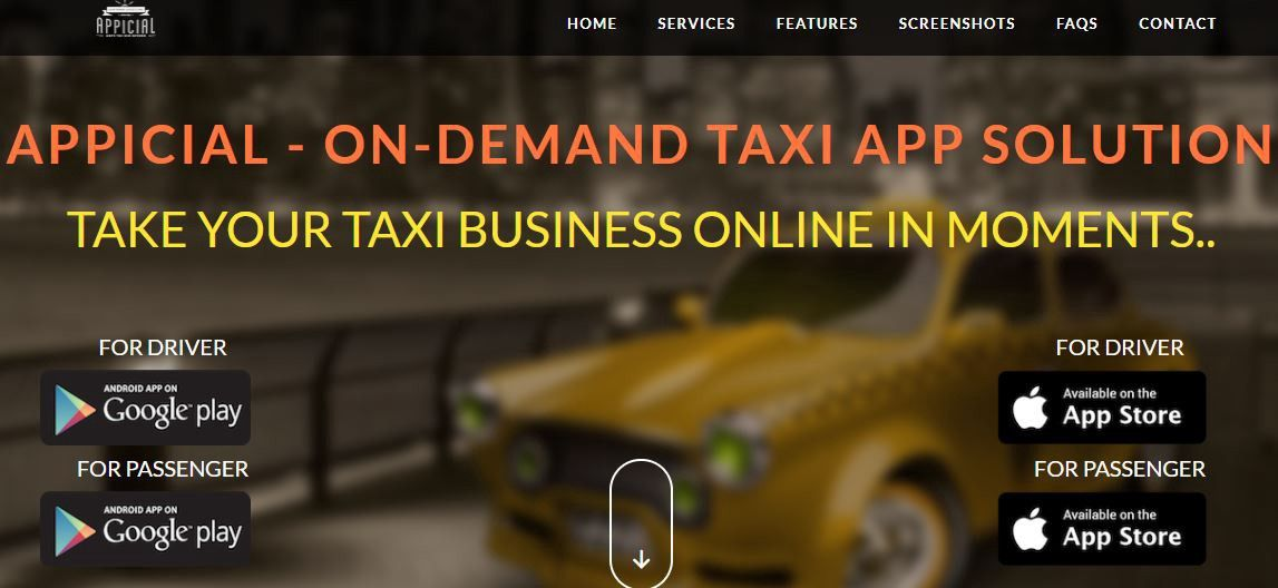 Uber/Lyft clone Taxi app Solution by Taxi App source code