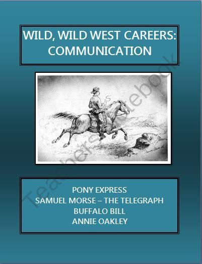Wild, Wild West Careers: Pony Express Riders; Sharpshooter from ...