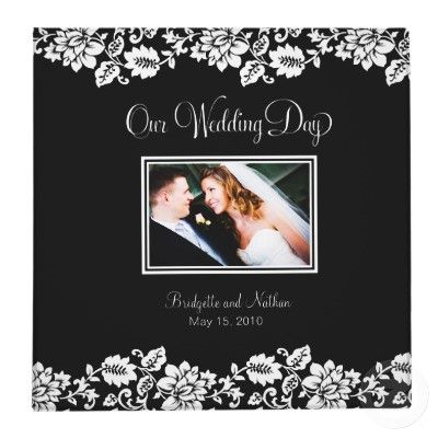 our wedding day great title page for wedding album