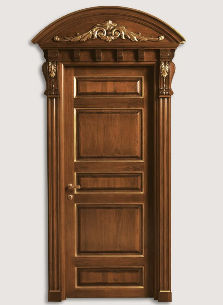 Bastiglia 1135 Q Antiqued Tulipwood With Gold Bastiglia C Classic Wood Interior Doors Italian Luxu Doors Interior Wooden Main Door Design Door Design Interior
