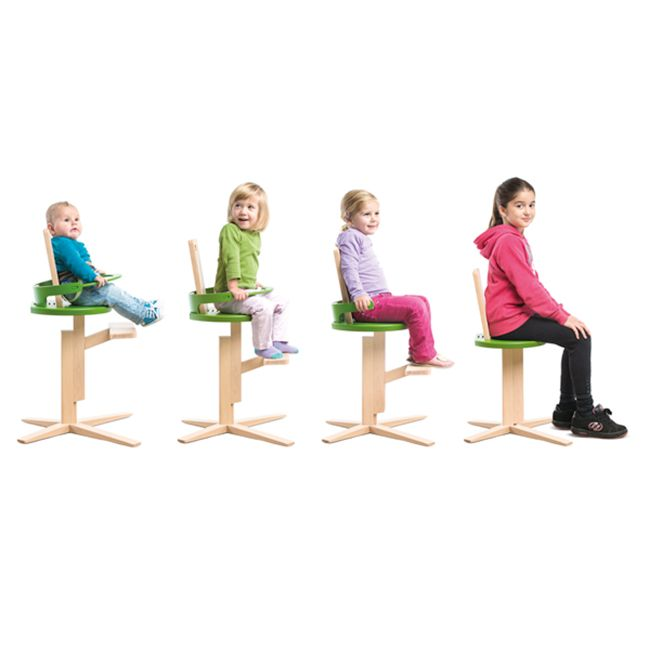 Froc high chair for toddlers and kids drawing garden design of