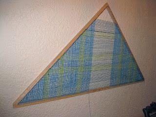 DIY 7' Triangle Loom or TriLoom, for short