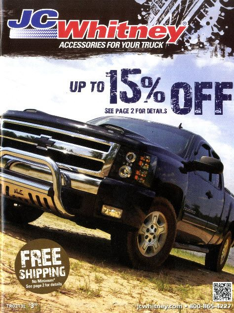 Free Truck Catalogs by Mail | The J C  Whitney Catalog Cover
