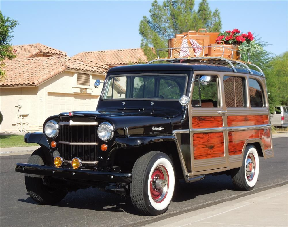 1964 Willys Jeep Wagon 4x4 Cool Classic 4x4 S Dude